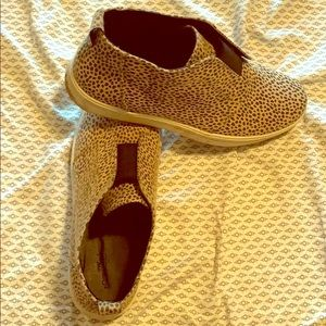 Leopard printed shoes